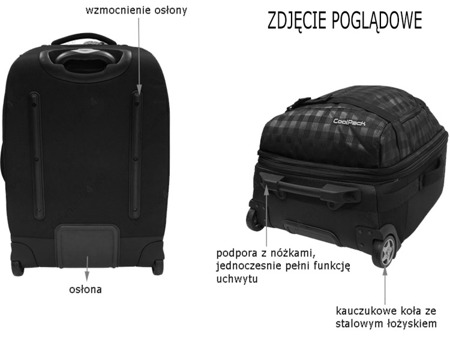 Walizka Coolpack Explorer Derby 62985CP nr 372