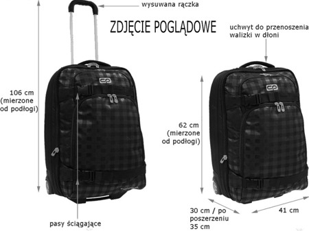 Walizka Coolpack Explorer Polo 62770CP nr 362