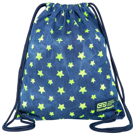 Worek sportowy CoolPack Solo Yellow Stars 52216CP nr C72134