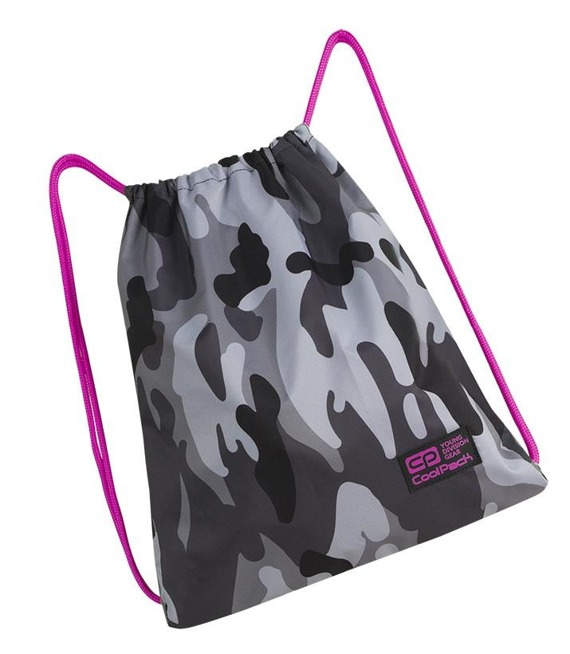Worek sportowy Coolpack Sprint Camo Pink Neon 89098CP nr A362