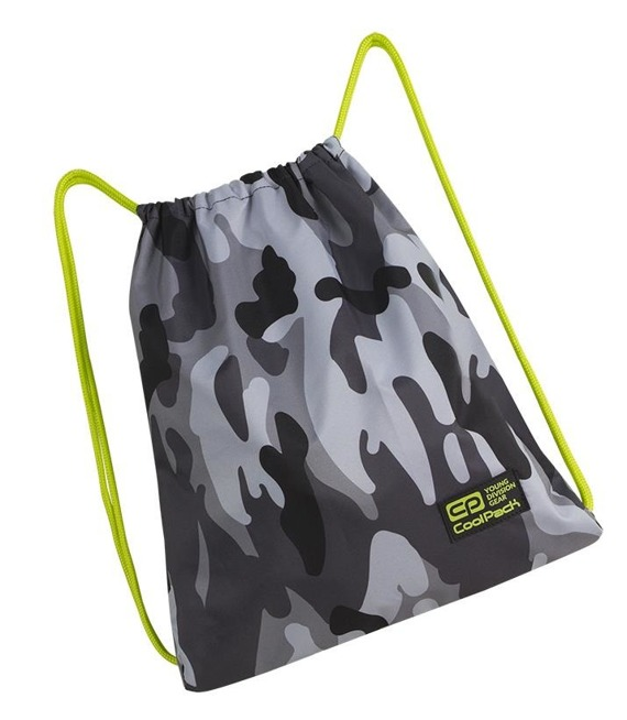 Worek sportowy Coolpack Sprint Camo Yellow Neon 89210CP nr A369